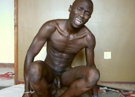 African Twink Piss and Fuck