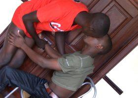 Afpha and Kevin Bareback