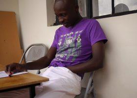 African Twink Kalem Jacks Off