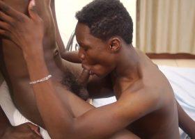 Africans Sage and Nadir Bareback